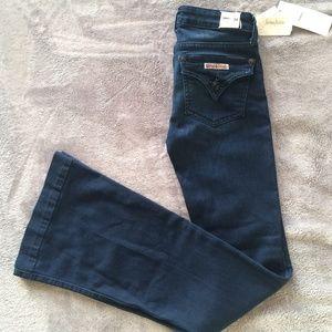 HUDSON Ferris Dark Jeans Wide Flare Leg NWT